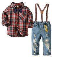 ingrosso vestiti di usura convenzionali del bambino-Tute Blazers Costume per Boy Cotton Baby Boys Tute New Suits Ragazzi Abiti da cerimonia per bambini Abbigliamento da cerimonia