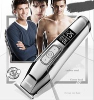 электробритва для батарей оптовых-Новинка Kemei KM-5027 Машинка для стрижки волос Электробритва Мужская Углеродистая сталь Бритва для волос Триммер для волос Литиевая батарея USB можно заряжать