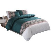 ingrosso comforter di lusso 3d-Biancheria da letto con stampe 3D Biancheria da letto con piumino stampato Biancheria da letto matrimoniale con lenzuola di grandi dimensioni