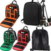 Waterproof DSLR Camera Bag Case Backpack Knapsack Large Capacity Outdoor Travel Shoulder Bags for Mirrorless Cameras Lens Flashes Tripod