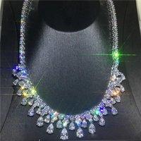 ingrosso collana di diamanti nuziali di nozze-