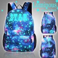 ingrosso borsa di tipo ragazza-Zaino per laptop tipo 3 per studente luminoso Zaino per laptop Zaino Day Blow per bambini Zaino da campeggio