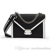 umschlag stil taschen großhandel-Frauen Leder Tasche Schultertasche Geldbörse Crossbody Messenger Bags berühmte Marke Handtaschen klassischen Stil Damen Umschlag Taschen für Damen