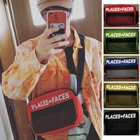 hochwertige herren schultertaschen großhandel-ORTE + GESICHTER Leben Skateboards 17ss Taschen Hochwertige Casual Fashion Designer Messenger Bag Herren Sport Crossbody Umhängetasche