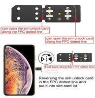 ingrosso iphone sbloccare sim r-Originale RSIM14 Sblocco SIM R-SIM 14 PER IPHONE 6 7 8 PLUS X XR XS XSMAX Strumento scheda RSIM