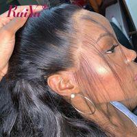 ingrosso capelli profondi delle parrucche d'onda del corpo profondo-Parrucca frontale in pizzo pieno onda del corpo 360 con i capelli del bambino parrucche diritte crespi acqua diritta profonda del merletto parrucche dei capelli umani capelli remy brasiliani