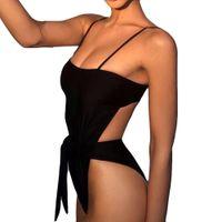 ingrosso reggiseno della maglia di un pezzo-Donne Sexy Tuta imbottita Push-Up imbottita Beach One Piece vest canotta sexy 2-15