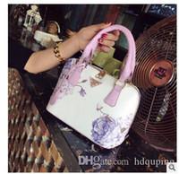 sacos de luxo da china venda por atacado-Atacado-China Estilo Original Bolsa de Ombro Lady Retro Shell Bolsa Sac a Principal Mulheres de Luxo Bolsas de Grife de Alta Qualidade Saco de Mão Das Mulheres
