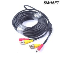 leistungsmesser dual großhandel-30 Meter langes 2-in-1-Video- / Stromkabel mit BNC-Anschlüssen und Cinch-Adaptern für Videosicherheitssysteme 10 Meter (schwarz)