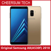 Wholesale android a8 phone resale online - hotsale Refurbished Original Samsung Galaxy A8 A530F P Cell Phone Octa Core GB GB Inch MP android G LTE free DHL