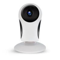wifi ip microfono al por mayor-Cámara de seguridad para el hogar S98 Cámara IP inalámbrica inteligente WiFi 960P con soporte de micrófono Intercomunicador de voz EE. UU. Reino Unido Enchufe de la UE