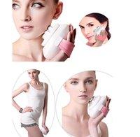 massage relaxant du corps magnétique achat en gros de-mini portable Body Relax minceur Massage 6 rouleaux Contrôle électrique Roller modelage du visage Massager Thight Body Slimmer