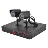 ir dvr home оптовых-1080P HD обнаружения движения водонепроницаемый ИК-камера ночного видения Видеорегистратор DVR системы домашней безопасности