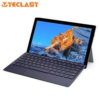 tablette teclast großhandel-Teclast X4 2 in 1 Tablet Laptop 11,6 Zoll Windows 10 Celeron N4100 Quad Core 1,10 GHz 8 GB RAM 128 GB SSD 5,0 MP HDMI mit Tastatur