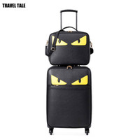Wholesale travel rolling luggage resale online - TRAVEL TALE quot inch monster suitcase with rod seyahat bavul trolley rolling luggage set