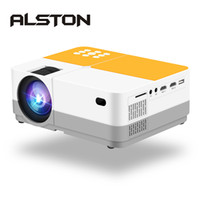 Wholesale digital projector sd card for sale - Group buy ALSTON H3 Full HD P Projector K Lumens Cinema Proyector Beamer Android WiFi Bluetooth HDMI VGA AV USB SD Card