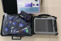 Wholesale jaguar tablet online - est diesel truck diagnostic scanner dpa5 dearborn protocol adapter with laptop xplore ix104 i7 tablet with full cables