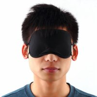 ingrosso occhiali da dormire-Bamboo Eye Mask Copertura dell'ombra Riposo per dormire Occhiali da viaggio Viaggi Occhiali Riposo Copertura dell'ombra per uomo Donna RRA1793