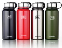 Wholesale water cooled pc resale online - Vacuum Water Bottles For Stainless Steel Insulated And Cool Mug Cup Outdoor Hiking Sport Tumblers Kettle Cups Custom Logo