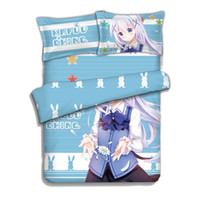 Wholesale home collection bedding resale online - Full Size Anime Dakimakura Collection Printing Bedding Set Duvet Cover Pillowcase for Bed