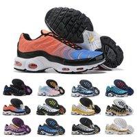 indirimli kadın basketbol ayakkabıları toptan satış-Mercurial Tasarımcı Sneakers Chaussures Homme TN Basketbol ayakkabı erkekler Bayan Zapatillas Mujer Mercurial TN Koşu Ayakkabı Tn İndirimler