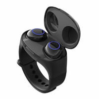 Wholesale hifi smart portable for sale - Group buy HM50 Bracelet Tws HiFi Bluetooth Earphones Portable Smart Wristband Wireless Stereo Headset in Sports Watch