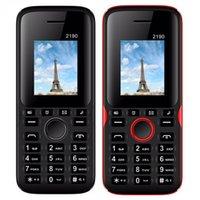 gsm сотовые телефоны сим-карты оптовых-Разблокирована Мобильный телефон 2190 1,77-дюймовый QCIF Экран Dual SIM-карта Классический GSM Дешевые Мобильный телефон 2.0 Bluetooth-клавиатура кнопка телефона