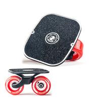 alüminyum alaşımlı rulo toptan satış-Sürüklenme Kurulu Freeline Roller Için Klasik Alüminyum Alaşım Yol Sürüklenme Paten Nemli Yerleşimler Kaykay Güverte Freeline Skate Wakeboard DB1