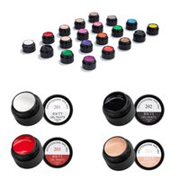 Wholesale lacquer painting for sale - Group buy 1 Bottles Of Colorful Drawing Nail Gel Polish ml Line Gel Thick Elastic Paint Nail Art UV Lacquer Design Art Manicure
