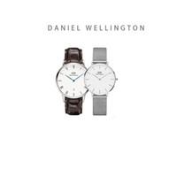 женский стальной ленточный конвейер оптовых-Оптовая продажа самых продаваемых высококачественных Йорк стиль 36 мм синие руки календарь кожаные мужские часы 32 мм Милан стальной ремень женские часы пара т