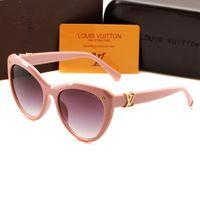 lunettes cateye achat en gros de-2019 Nouvelle mode 1854 Lunettes de soleil de luxe populaire marque française designer cateye lunettes de soleil pour les femmes Haute Qualité ombre lunettes