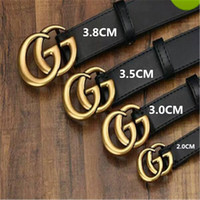 Wholesale womens black rings for sale - Group buy 54540Mens womens Fashion Business Ceinture style belts design mens womens riem with black belt