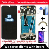 ingrosso visualizzare lg g2 frame-2312 * 1080 LCD originale con cornice per HUAWEI P30 Lite Schermo LCD per schermo HUAWEI P30 Lite Nova 4e MAR-LX1 LX2 AL01