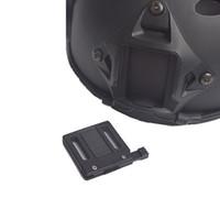 Wholesale tactical helmet night vision resale online - Tactical Helmet NV Mount Nylon Adapter for Fast Helmet Night Vision Sports Helmets Accessories