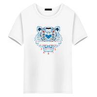 ojos de la camiseta al por mayor-Moda de lujo tops diseñador camisetas para hombre ojo de tigre el cocodrilo tiburón norte camiseta mujeres camiseta hombres ropa de manga corta camisetas