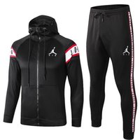 kışlık moda markası toptan satış-Kış Eşofman Için hoodie Marka Tasarımcı Mont TopsPants Moda Sonbahar Hırka Erkekler futbol eşofman Tişörtü Erkek Giyim Suits