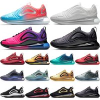 c21d711c9817 720 Running Shoes Men Women Northern Lights Day Night Sea Forest Pink Sea Black  White Red 72C Sport Designer Trainers Sneakers 36-45