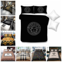 Wholesale planting beds resale online - Luxury Bedding Set King Size Fashionable High End Duvet Cover Queen Classic Twin Full Single Double Soft Bed Cover With Pillowcase