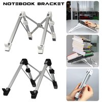 Wholesale fold notebook for sale - Group buy EastVita Laptop Bracket Portable Folding Laptop Stand Aluminum Alloy Notebook Heightening Bracket Adjustable PC Holder r20 car