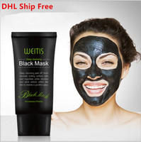 Wholesale mud blackhead removal for sale - Group buy WEITIS Black MASK ML Deep Cleansing Peel Off Mask Face Nose Blackhead Removal Purifying Facial Mask DHL Shipping Free