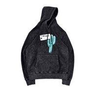 jaque hoodies venda por atacado-outono inverno Travis Scott Cactus Jack Planta Hoodie CPFM colaboração Água Washed lavagem com pedra do hoodie moletom com capuz