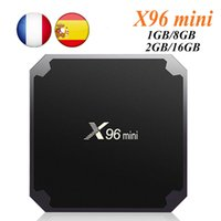 Wholesale android tv box youtube online - Genuine X96 MINI Android TV box Amlogic S905W Quad Core GB GB GB GB TV Boxes Smart TV