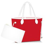 neue blumentaschen großhandel-Die Handtaschen der Entwerferfrauen blühen zusammengesetzte Tasche PU-Lederhandtasche-Schulterbeutel der Damen weiblichen Geldbeutel mit Mappe 2pcs / set 2019 Neuer Klassiker