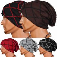 Wholesale oversized beanie cap for sale - Group buy Fashion Men Slouchy Beanie Long Knit Cap Oversized Warm Winter Unisex Chic Hat Y107