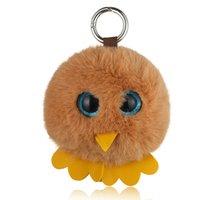 Wholesale big eye soft toys for sale - Group buy Plush Soft Cartoon Animals Stuffed Mini Big Eyes Owl plush Keychain Bag Xmas Gift Pendants cartoon Children s Lovely Pendant Toy
