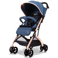 свободные алюминиевые банки оптовых-Алюминиевый сплав рамка бесплатная установка детская коляска высокого обзора универсальный колесо может сидеть и лежать портативный сложить коляску