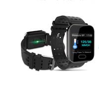 kan oksijen monitörleri toptan satış-Akıllı Spor Parça Bilezik Kalp hızı Kan Basıncı İzleme Kan Oksijen Izleme 1.3 Inç Ekran Akıllı Bilezik Spor Spor Trac