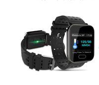track armband großhandel-Smart Fitness Track Armband Herzfrequenz Blutdrucküberwachung Blutsauerstoffmonitoring 1,3 Zoll Display Smart Armband Sport Fitness Trac