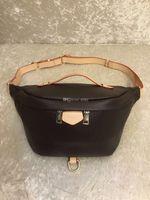 Top Quality Newest Wallet handbags Cross Body Shoulder Bag Waist Bags Bum Unisex Waist Bags Inclined shoulder bag Lady Belt Chest bag Brown