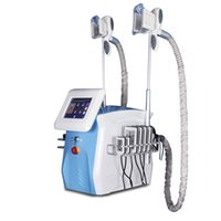 Wholesale laser timing resale online - 2019 Newest fat freezing machine waist slimming cavitation rf machine fat reduction lipo laser freezing head can work at the same time